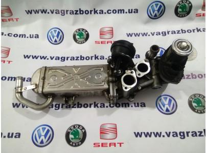 Радиатор системы рециркуляции ОГ с регулирующей заслонкой (EGR) Skoda Octavia A5,Superb,Yeti/Seat Toledo,Leon,Altea/Volkswagen Caddy,Passat,Golf,Jetta