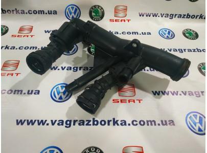 Корпус термостата Skoda Octavia A7/Seat Leon/Volkswagen Passat B7,Golf 7