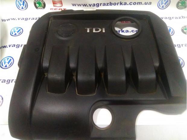 Декоративная крышка на двигатель 1.9 TDI ( BXE,BKC,BJB и т.д)  для Skoda Octavia A5,Superb,Yeti/Seat Toledo,Altea,Leon/Volkswagen Passat B6-B7  03G10395BG