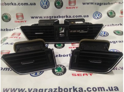 Дефлекторы обдува салона Skoda Octavia A7