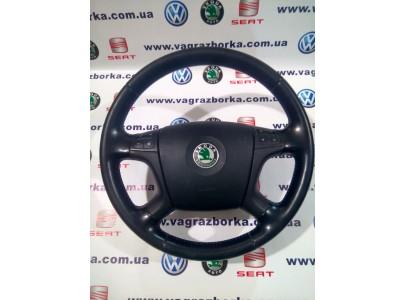 Многофункциональное рулевое колесо Skoda Octavia